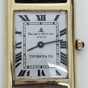 Baume & Mercier Tiffany & Co. 14 KT Gold Watch